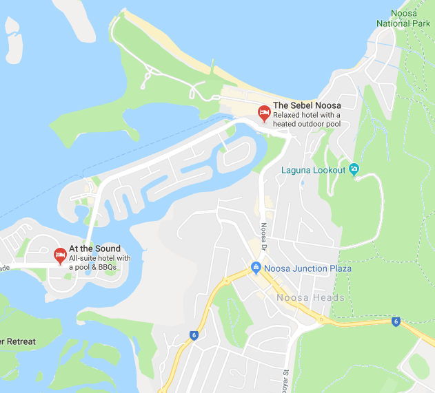 noosa map